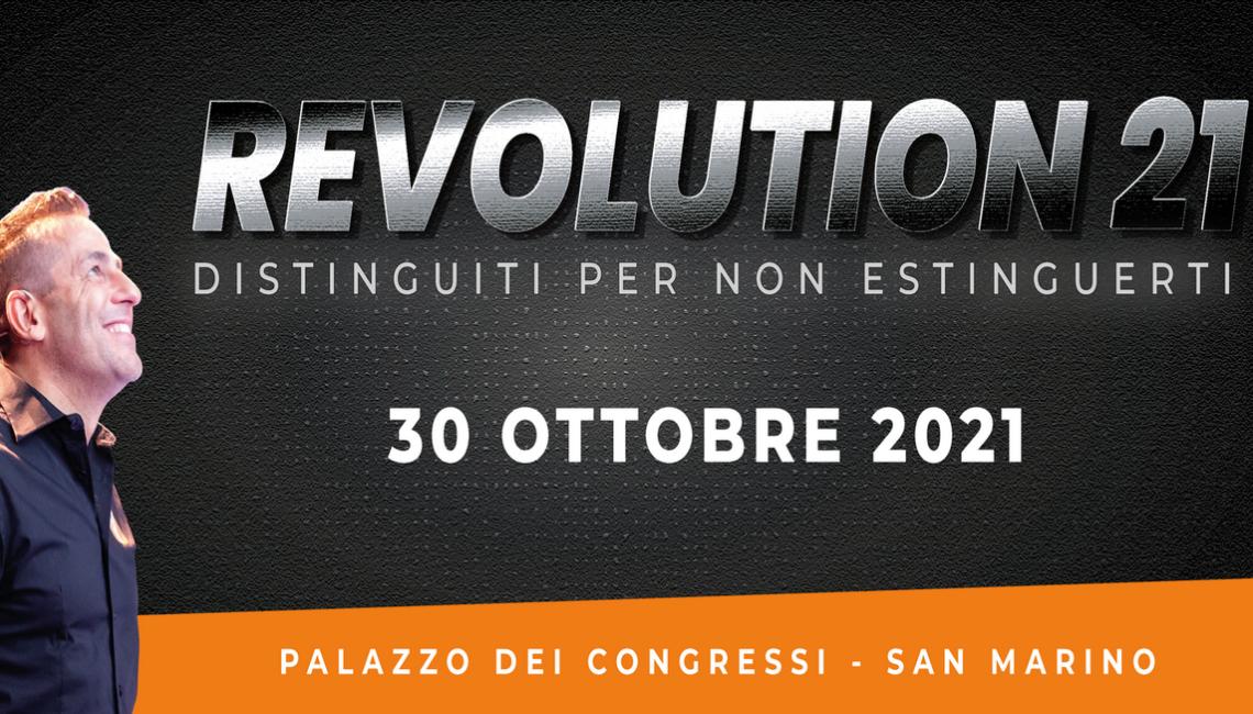 Revolution 2021 - Mario Tura De Marco
